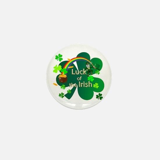 Luck of the Irish Mini Button