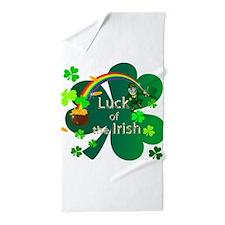 Luck of the Irish Beach Towel