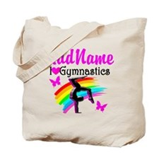 NUMBER 1 GYMNAST Tote Bag