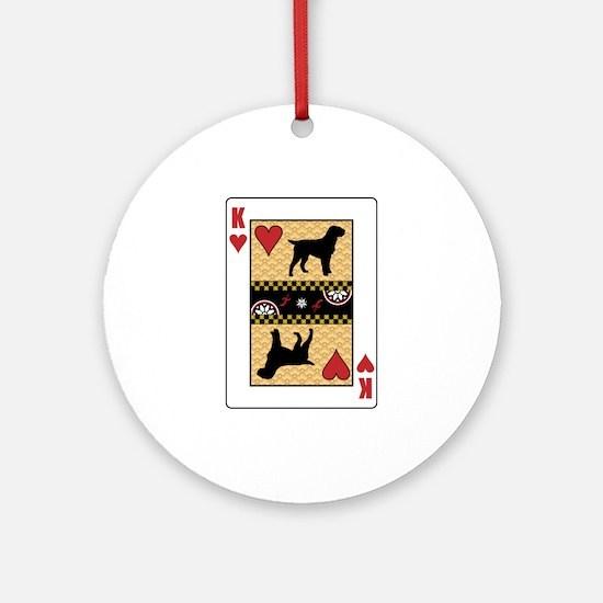King Griffon Ornament (Round)