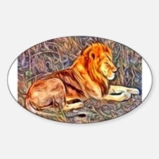 Lion, altered Image Decal