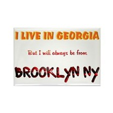 From Brooklyn Ny Rectangle Magnet