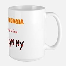 From Brooklyn Ny Large Mug