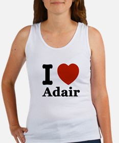I love Adair Women's Tank Top