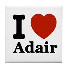 I love Adair Tile Coaster
