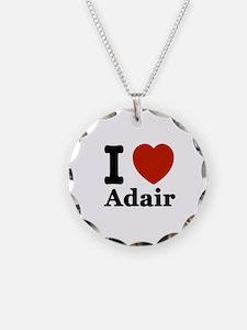 I love Adair Necklace