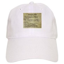 January 6th Baseball Baseball Baseball Cap