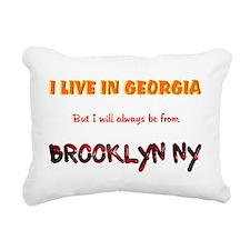 Cute Newyork Rectangular Canvas Pillow