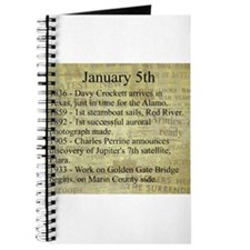 January 5th Journal