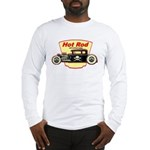 Traditional Hot Rod Style Long Sleeve T-Shirt