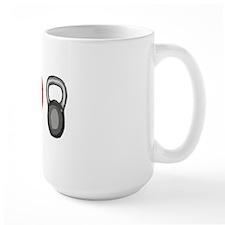 I Heart Kettlebells Coffee Mug