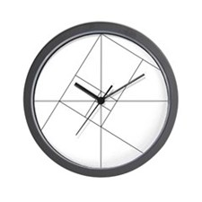 Golden Ratio Wall Clock