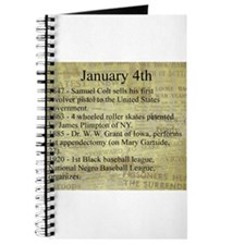 January 4th Journal