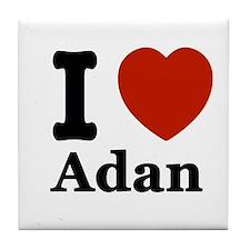 I love Adam Tile Coaster