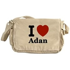 I love Adam Messenger Bag