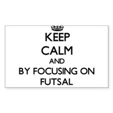 Keep calm by focusing on Futsal Stickers