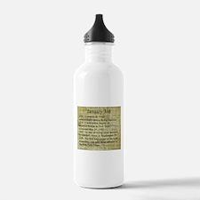 January 3rd Water Bottle