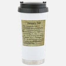 January 3rd Travel Mug