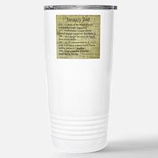 January 2nd Travel Mug