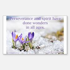 """Perseverance & Spirit"" Decal"