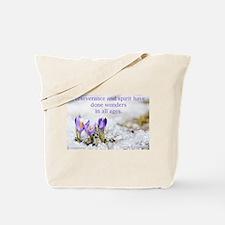 """""""Perseverance & Spirit"""" Tote Bag"""