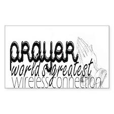 Prayer, Wireless Connect Decal