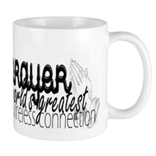 Prayer, wireless connect Mugs