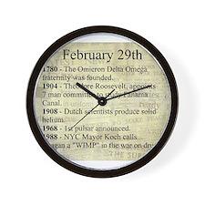 February 29th Wall Clock