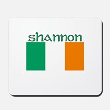 Shannon, Ireland Flag Mousepad