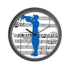 Cool Drum corps Wall Clock