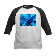 Blue Abstract Baseball Jersey