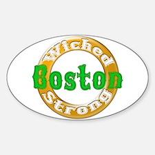 WS Irish V2 Sticker (Oval)