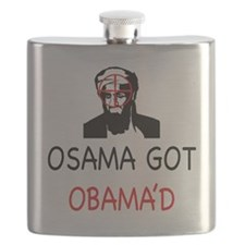 Osama got Obama'd Flask