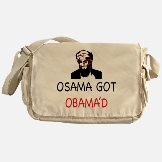 Osama got Obama'd Messenger Bag