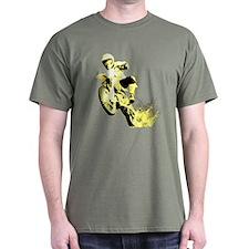 Yellow Dirtbike T-Shirt