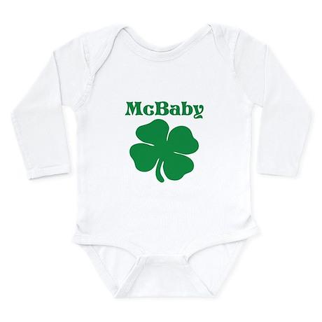 McBaby Shamrock Body Suit