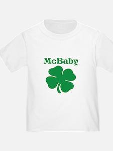 McBaby Shamrock T-Shirt