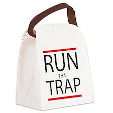 Run Tha Trap Canvas Lunch Bag
