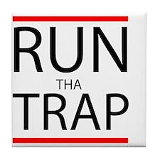 Run Tha Trap Tile Coaster