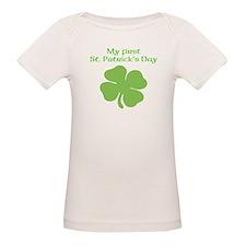 My First St. Patricks Day Shamrock T-Shirt