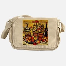 Prendergast - Still Life Fruit and F Messenger Bag