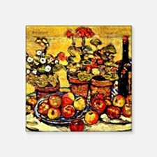 "Prendergast - Still Life Fr Square Sticker 3"" x 3"""
