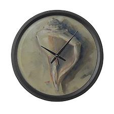 Seashell Beach Whelk Sea Shell Large Wall Clock
