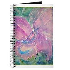 purple orchid, floral art, Journal