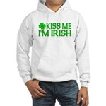 Kiss Me I'm Irish (Light) Hooded Sweatshirt