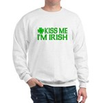 Kiss Me I'm Irish (Light) Sweatshirt