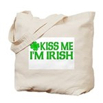 Kiss Me I'm Irish (Light) Tote Bag
