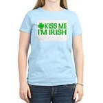 Kiss Me I'm Irish (Light) Women's Light T-Shirt