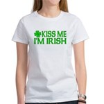 Kiss Me I'm Irish (Light) Women's T-Shirt