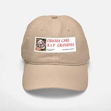 Obama Care - Health Danger Baseball Baseball Baseball Cap